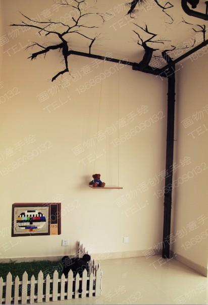 画物语创意手绘墙