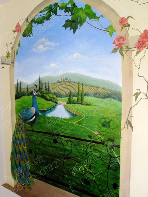家装墙绘-呼和浩特画物语创意手绘墙