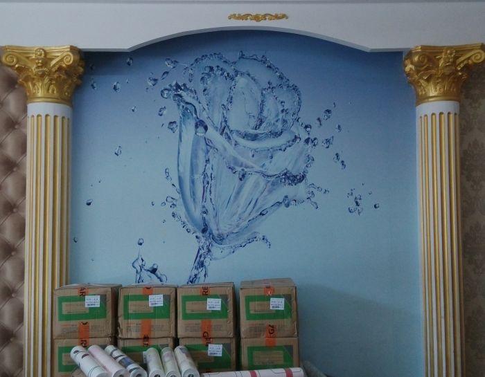 室內淺色墻壁紙