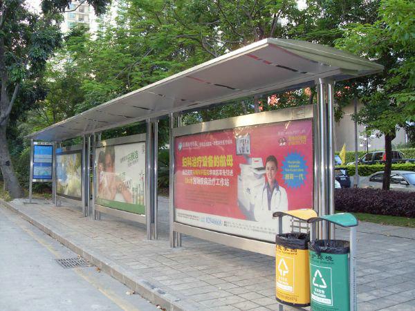 永盛不锈钢公交站牌河南郑州不锈钢制品丨河