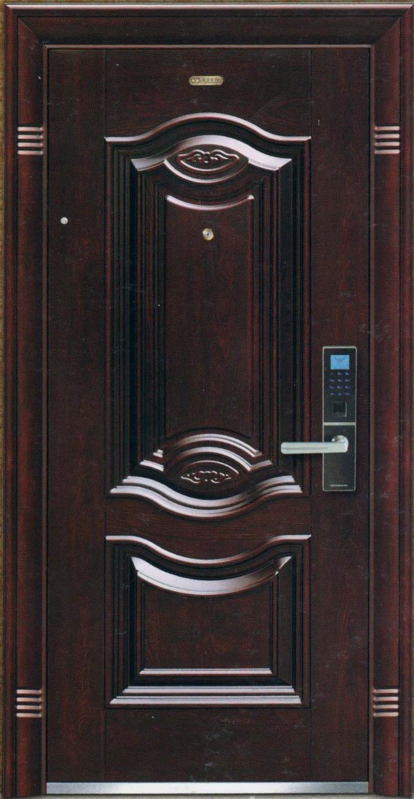 智能指纹防盗门