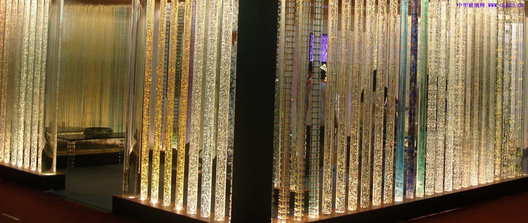 雨蓬   水晶柱,柜台,水幕,雕花,玻璃砖