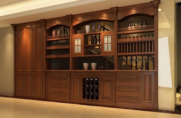 定制家具展厅欧式酒柜