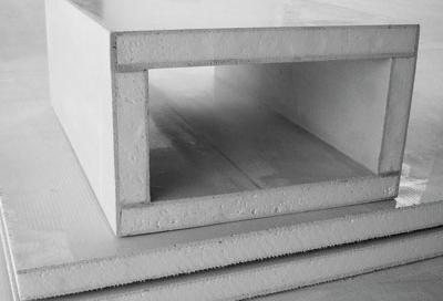 玻镁复合板风管 重庆空调风管材料批发|重庆保温材料