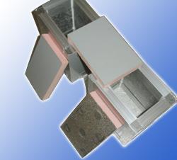 彩钢板酚醛复合风管 空调风管系列 鑫渝保温材料