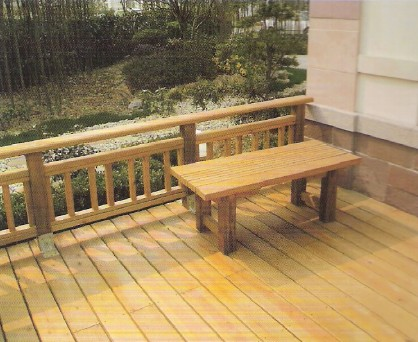木地板 太原防腐木