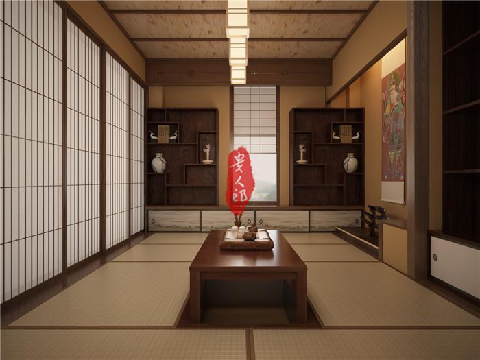 日式书房榻榻米装修效果 山西太原榻榻米定做批发  .
