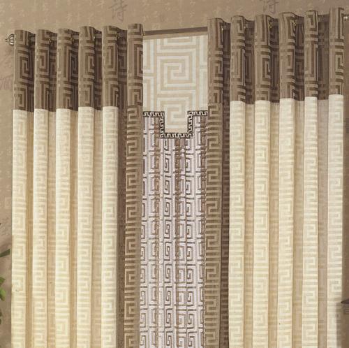 中式窗帘-中式窗帘-山西金门豪轩窗帘软装生活馆图片