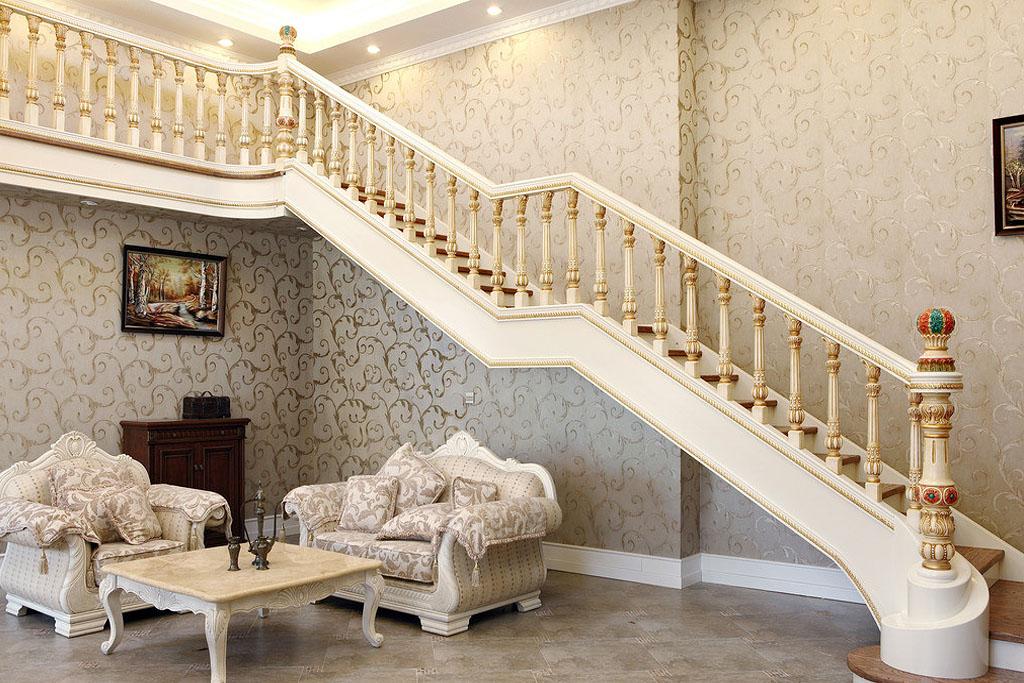 欧式门楼梯展示效果图