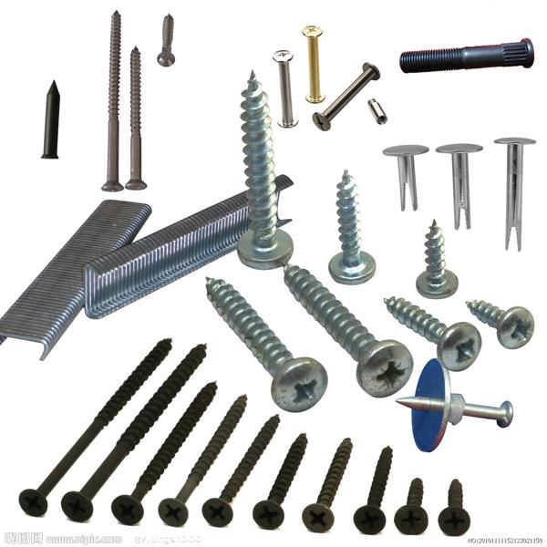 详细内容 在工程,木工以及建筑上,钉子指的是尖头状的硬金属(通常是
