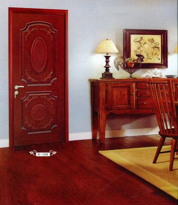实木烤漆门h-136