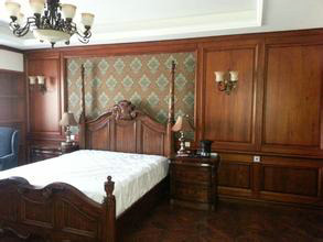背景墙 房间 家居 酒店 设计 卧室 卧室装修 现代 装修 293_220图片