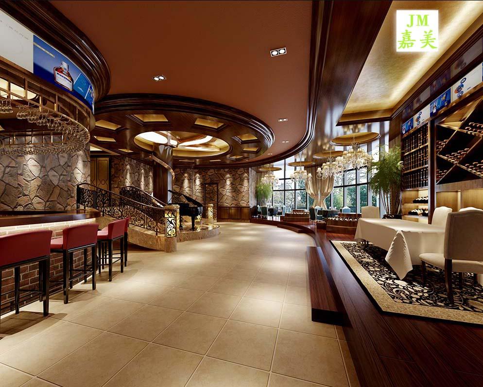 商品名称: 宾馆餐厅装修效果图 商品名牌: 嘉美装饰 商品型号