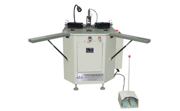 zty自动可调刀座收藏式液压组角机图片