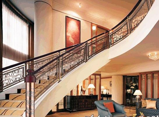 铁艺楼梯扶手系列图片