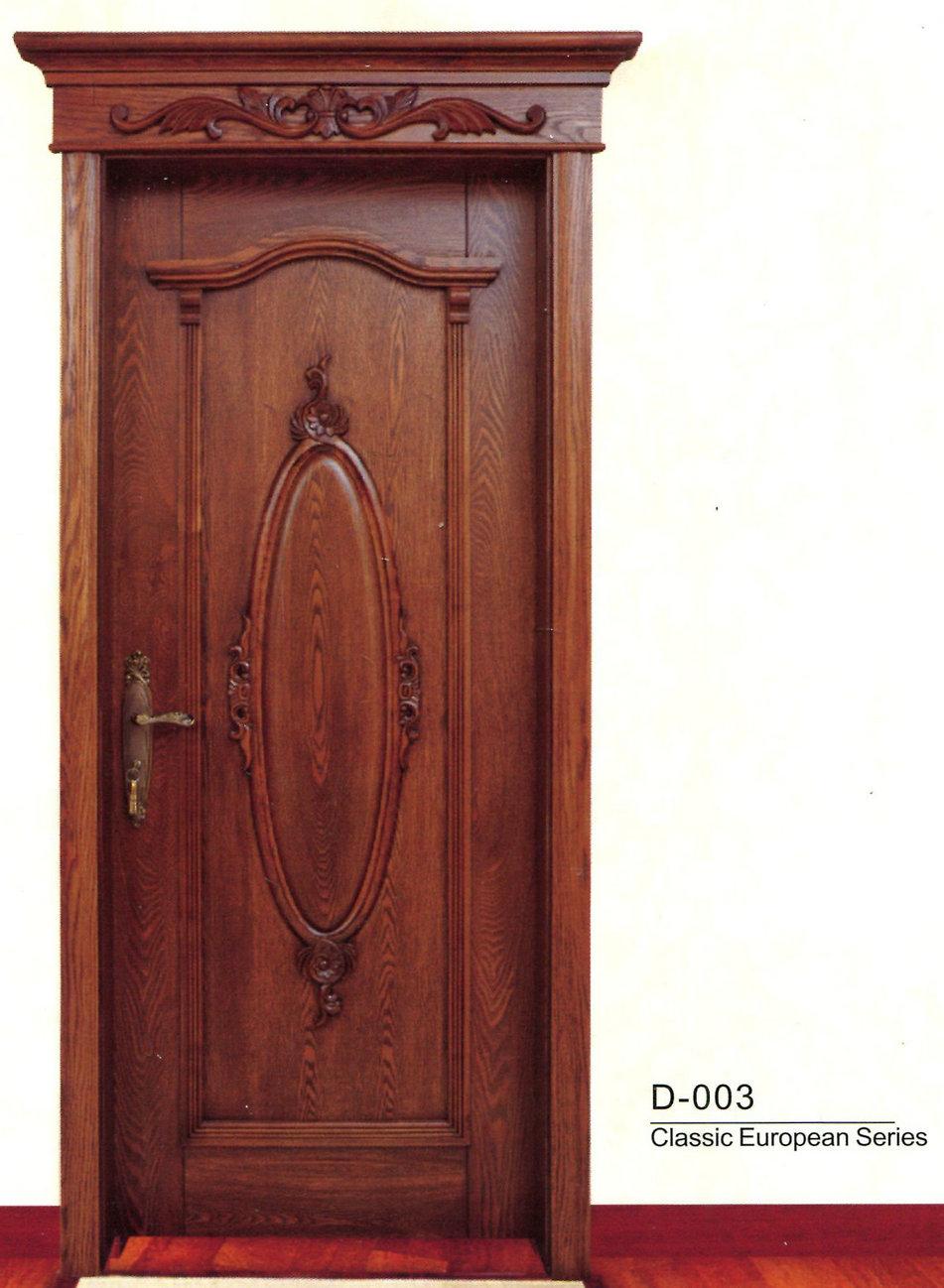 欧式贵族室内门d-003