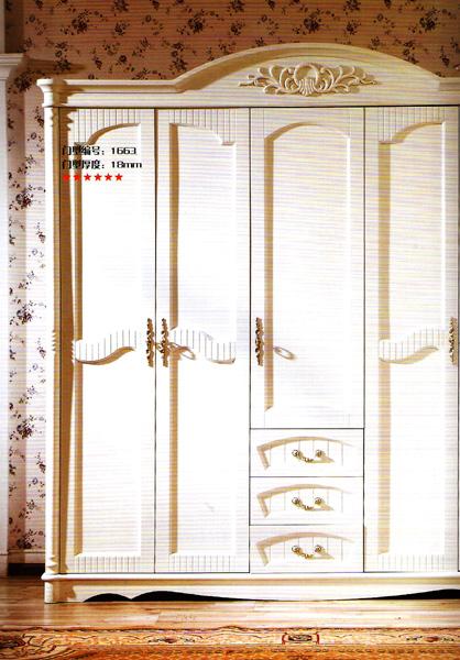 因为衣柜的面积是按立体面积计算,层板的计算方式是五个面的总面积