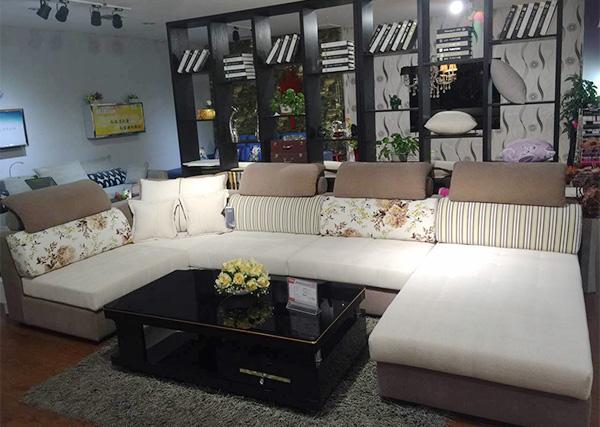 布艺现代沙发组成结构
