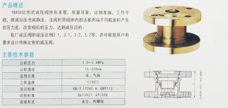 通常用于高层建筑,泵站及消防系统,既能减动压又能减静压,减压比例图片