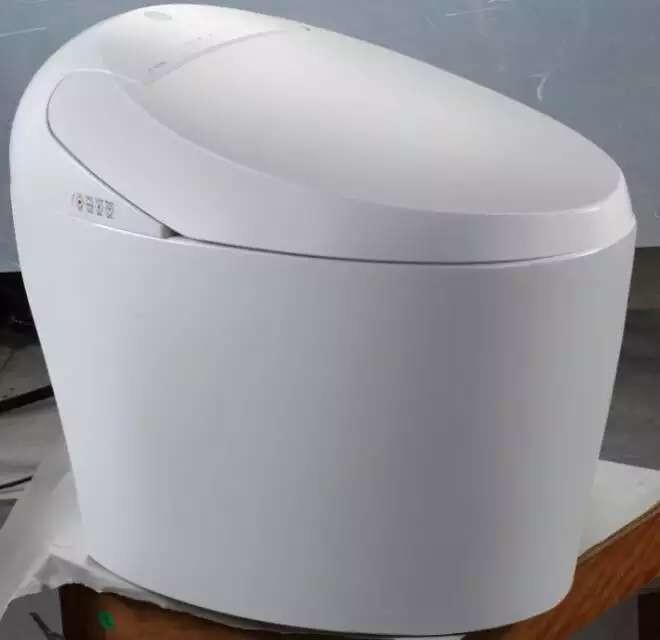 要求:一种节水坐便器,它是由坐便器,密封档板,冲洗器构成,其特征在于:坐便池底排粪污水口直接与下水排污管连接,在坐便池底排粪污水口装一个密封活动档板,活动密封档板由一根连接杆固定在坐便池的底部,连接杆通过一根转动杆与坐便池上盖连接,在坐便器的前方设一个活塞压水器,活塞压水器的进水口与存水箱连接,内设止水阀,活塞式压水器的出水口通过出水管与坐便池的上边缘喷水口连接,出水管上设有止水阀,在靠近下水排污管与排粪污水口连接处的下水排污管上,接一根与其它污水连接的水管。