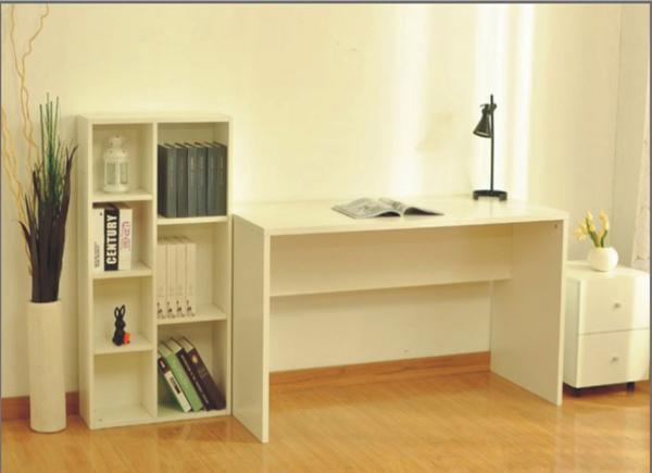 新款连体炕衣柜 电脑桌欧式