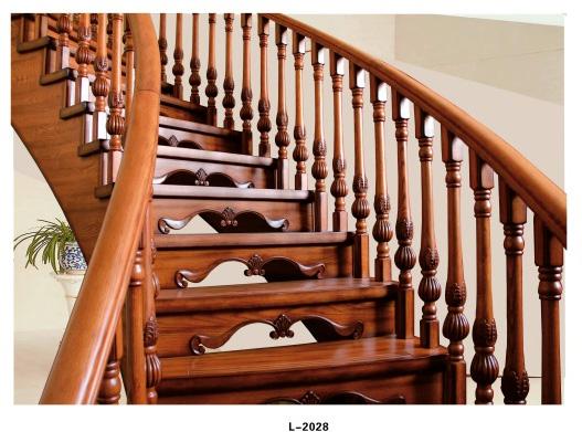 实木楼梯 l-2028