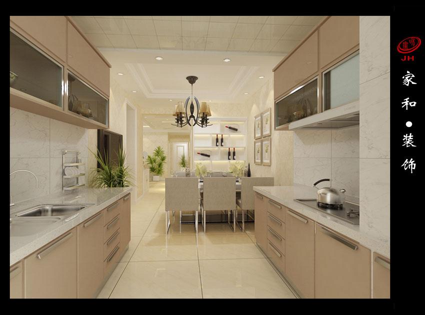 (2)室内墙面,地面,顶棚以及家具陈设乃至灯具器皿等均以简洁的造型