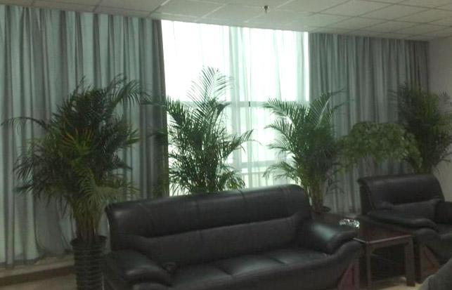 辦公室窗簾效果圖