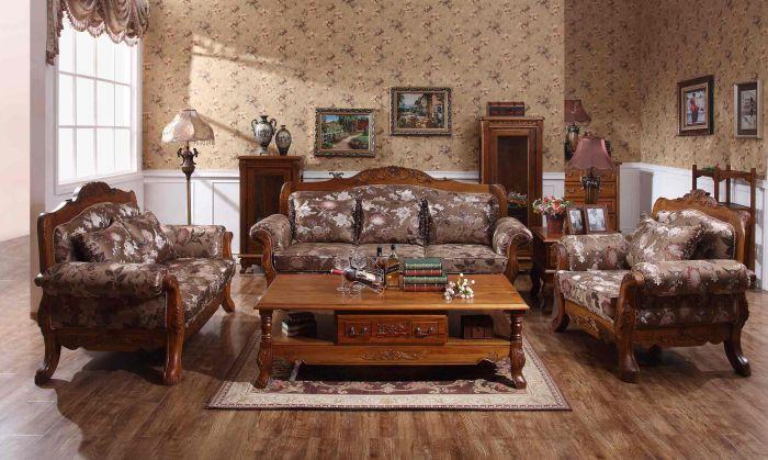 欧洲古典花纹雕塑沙发