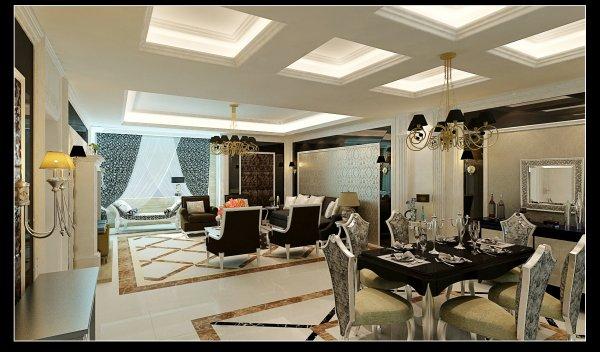 欧式客厅风格