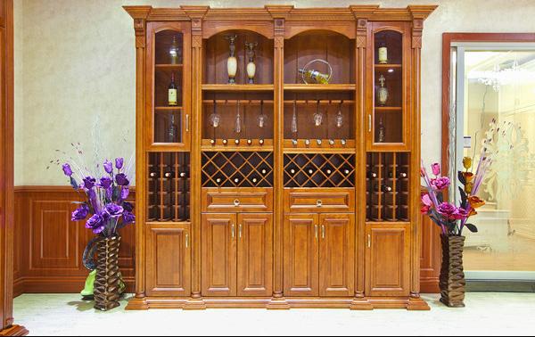 欧式酒柜 (1) 壁炉系列|橱柜系列|护墙板系列|沈阳|板