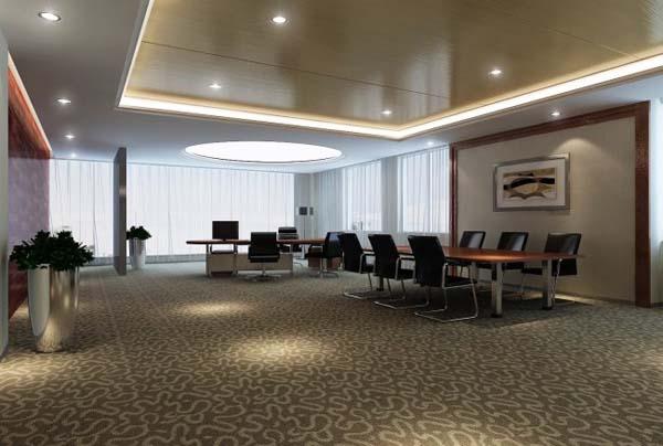 办公室墙纸-长方形办公室设计布局|办公室墙面布置||.