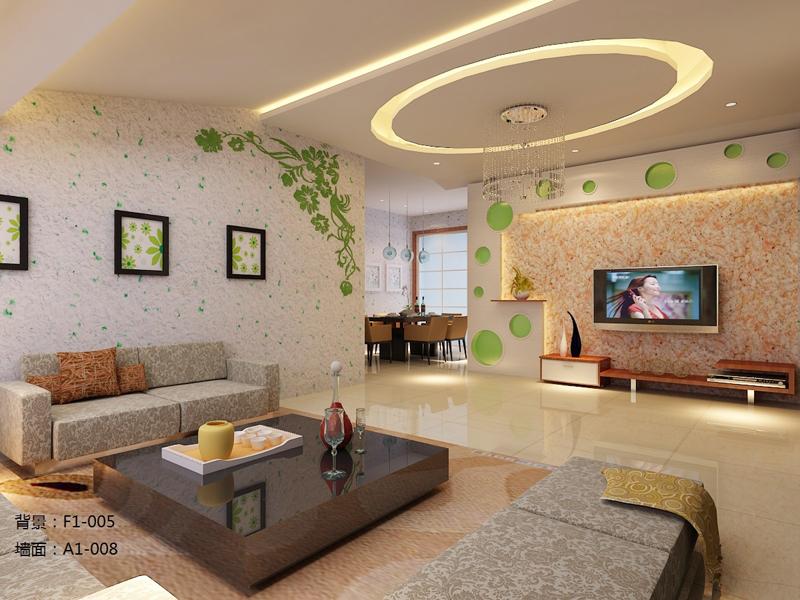 家装客厅装饰效果图-沈阳南北通新型建材有限公司