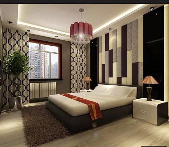 床头背景墙006