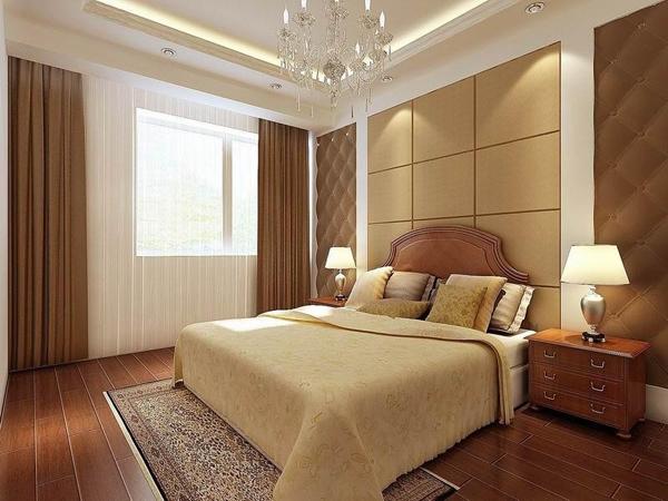 木雕床头设计图