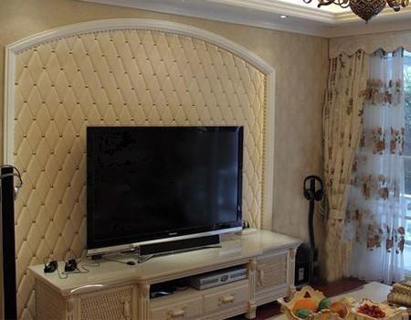 电视背景墙023 沈阳皮雕软包|沈阳软包批发|东北软|皮