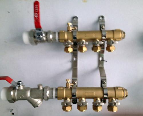 维嘉分水器手动排阀分享展示图片