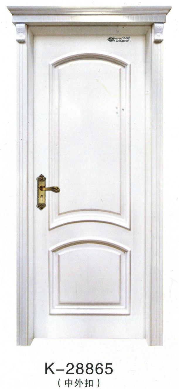 木门的造型要与居室装饰风格相一致