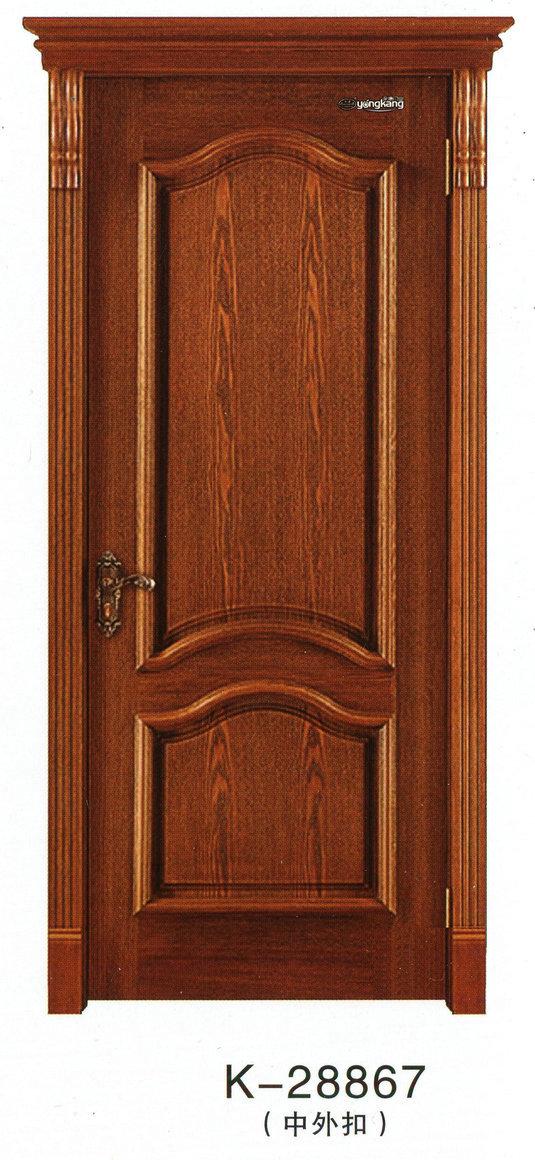 实木烤漆室内套装门k-28867