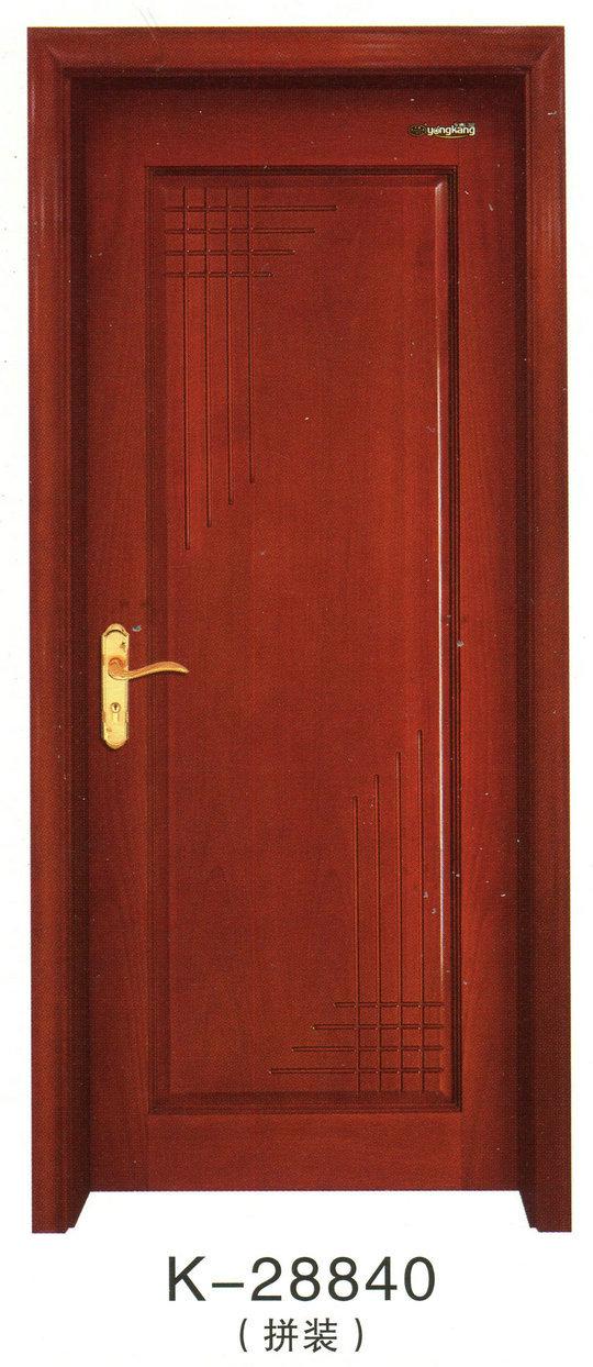实木烤漆室内套装门k-28840