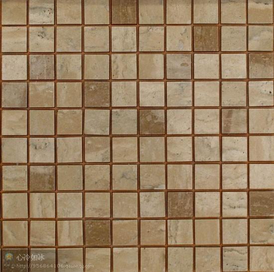 最早的马赛克就是用小石子镶嵌,拼贴而成,石材马赛克具有纯自然,天然
