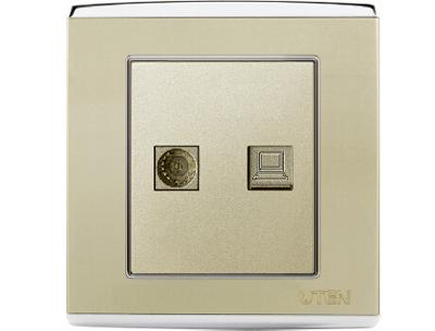 而好的开关插座选用的铜片及接线端子通常会比较厚实