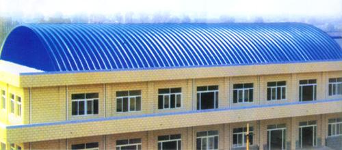 拱形厂房 拱形厂房 山西彩钢钢结构