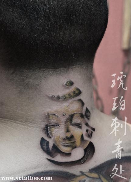 好可爱的小猫纹身