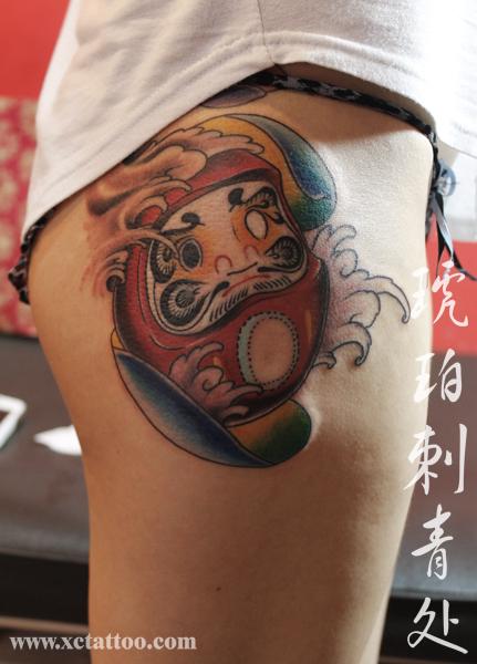 李可爱的纹身图案