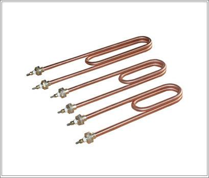 全紫铜电热管 双.; 全铜电热管;; 蒸饭车电加热管