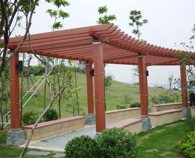 3,提高木材稳定性,防腐木对户外木制结构的保护更为主要.
