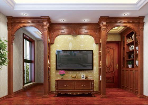 家中电视背景,沙发背景,餐厅背景及床头背景等区域都能很好地保护墙面图片