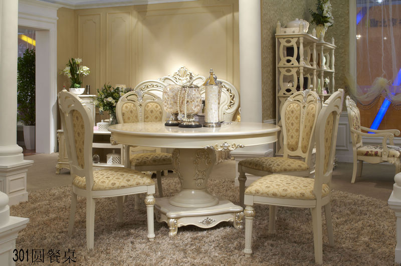 圆餐桌 欧式家具