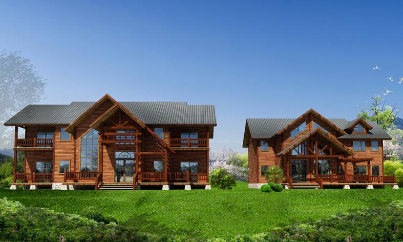 防腐木制品 小木屋